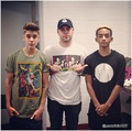 justin bieber, scooter braun, jaden smith 2013