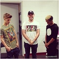 justin bieber, scooter braun, jaden smith 2013 - justin-bieber photo