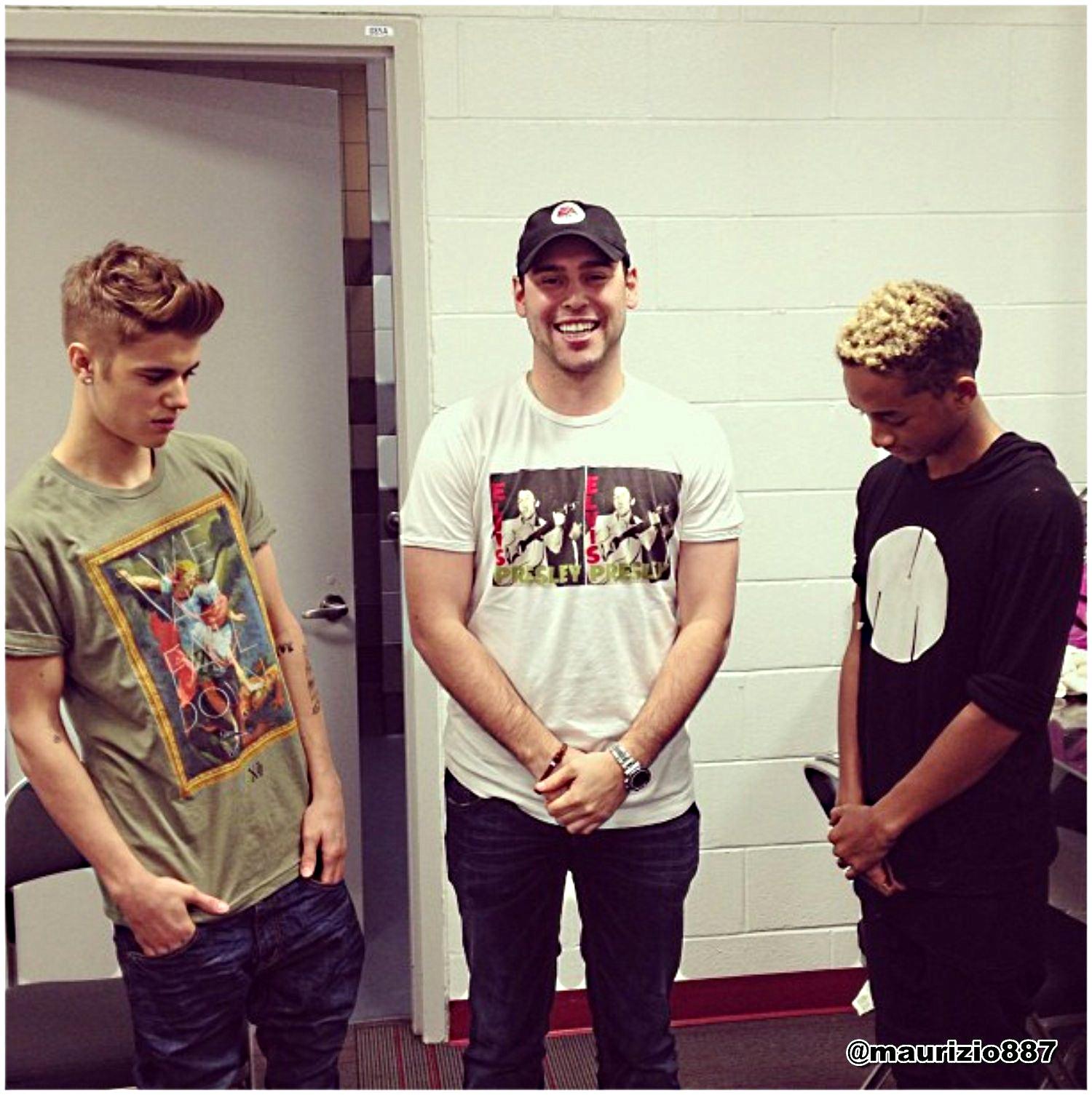 Justin Bieber and Jaden Smith 2013