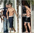 justin bieber shirtless Miami 2013 - justin-bieber photo