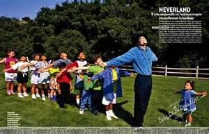 michael and children at neverland