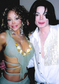michael and his sister - michael-jackson photo