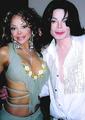 michael and his sister - michael-jackson photo