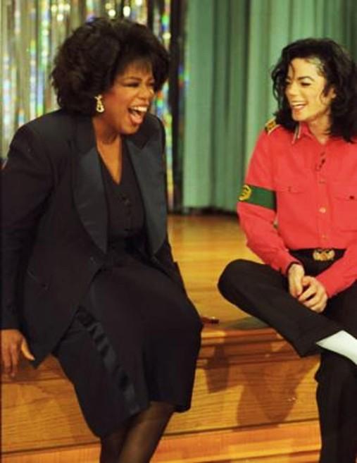 michael and oprah