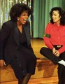 michael and oprah - michael-jackson photo