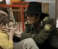 michael at ann orphanage - michael-jackson photo