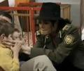michael at ann orphanage - michael-jackson photo