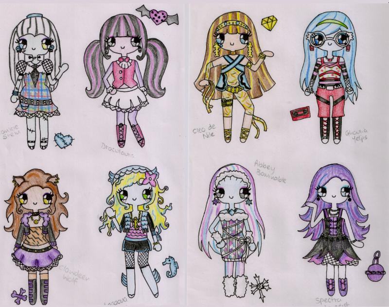 the monster high in 3d images monster hd wallpaper and background