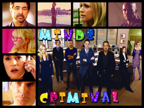 my criminal mind's art