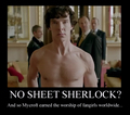 mycroft worship - sherlock photo
