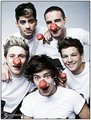 one direction, Red Nose dia