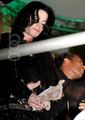 pie fight - michael-jackson photo