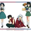 raninu - inuyasha-and-ranma-1-2 fan art