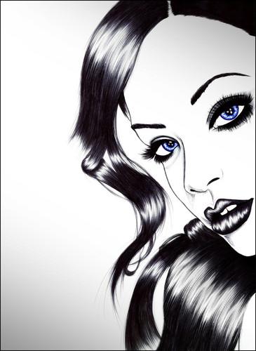 রিহানা drawing
