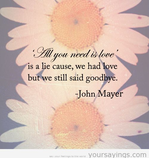John Mayer Desktop Wallpaper: Sad Quotes Photo (33422239)