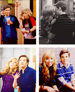 Sam and Freddie wallpaper containing a portrait called seddie