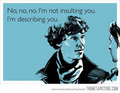 sherlocks excuse - sherlock photo