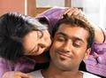 surya with his daughter