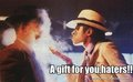 to haters :D - michael-jackson photo
