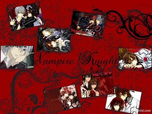 vampire knight wallpaper with animê titled vampire knight