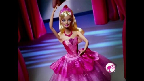 wow Barbie in the rose shoes