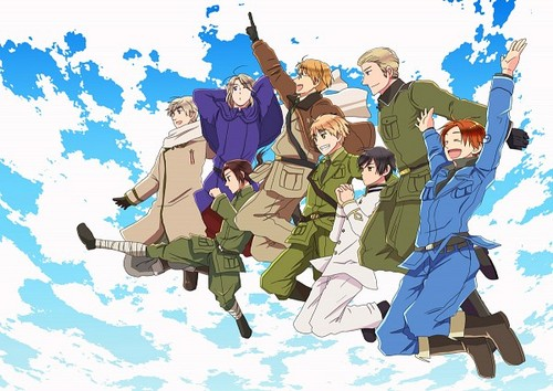 Hetalia kertas dinding called ~Axis and Allies~