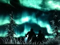**•Beautiful Skyrim tundra, đài nguyên Lights!•**