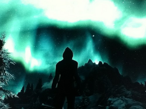 **•Beautiful Skyrim ツンドラ Lights!•**