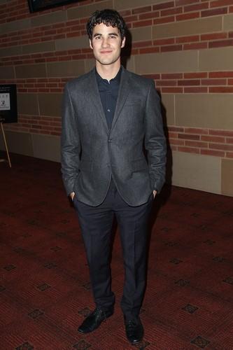 Darren Criss attends the 40th Annual Annie Awards