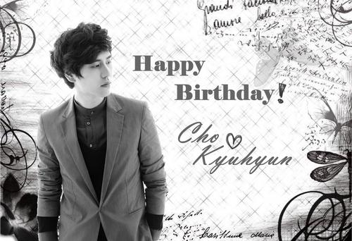 ♥Happy Birthday Kyuhyun♥