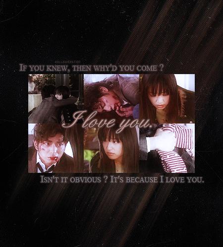 """It's because I प्यार you"""