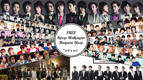 kpop 4ever wallpaper titled ♥K-pop♥