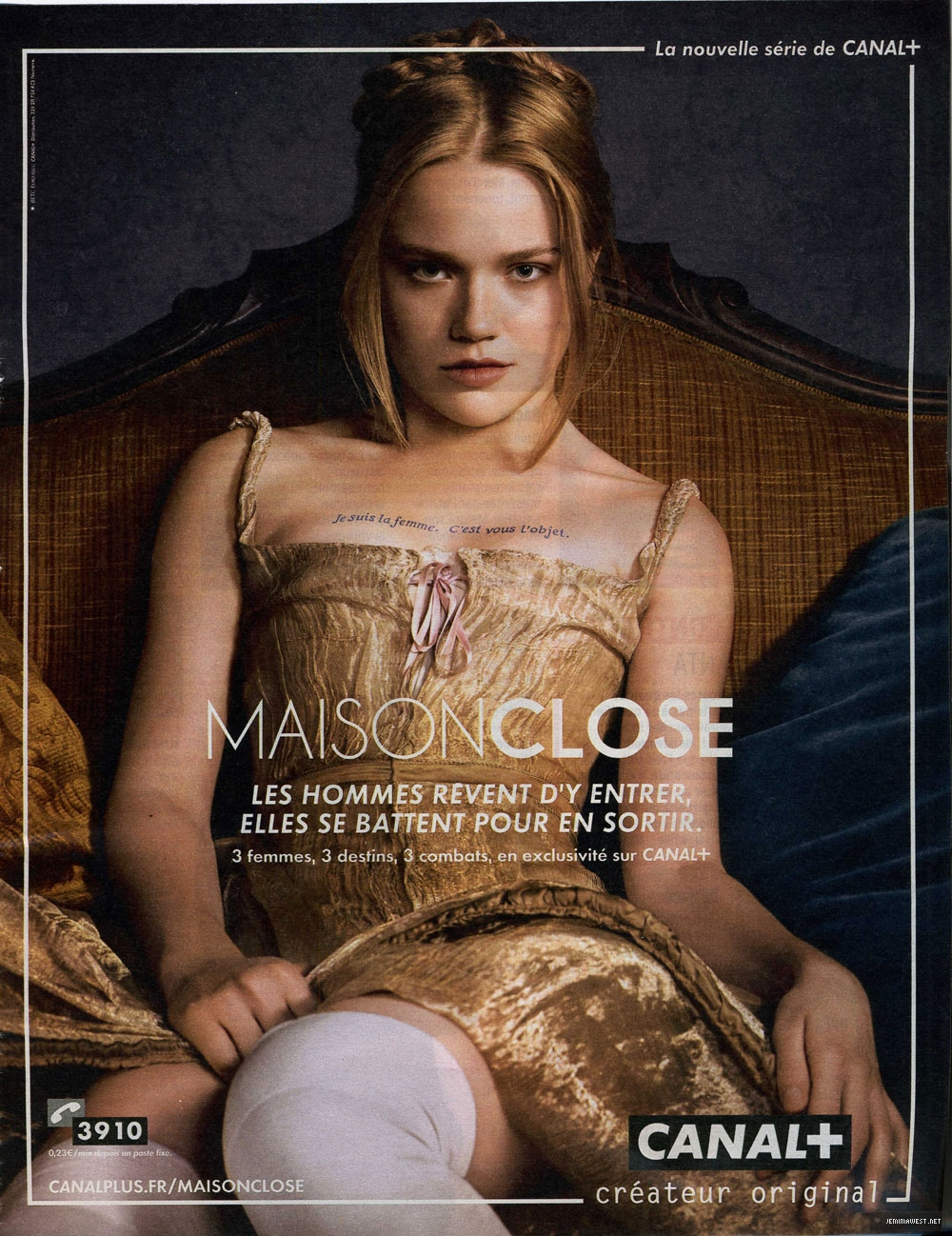 39 maison close 39 season 1 2010 clippings jemima west for Maison close
