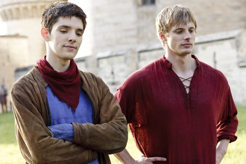 Bradley James wallpaper titled ''Merlin''_3 season