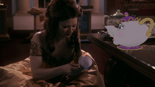 """Mrs Potts, I broke your son."""