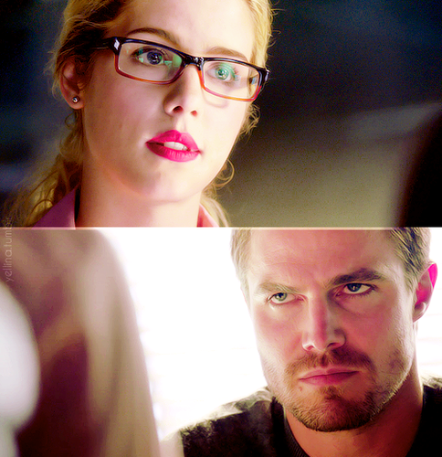 Oliver & Felicity वॉलपेपर probably with a portrait called Oliver & Felicity