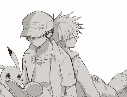 [Pokemon] Ash x Gary ~