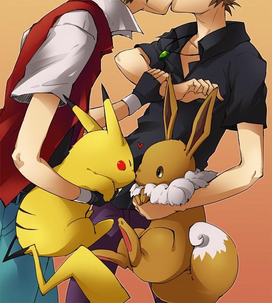 lumforever [Pokemon] Ash x Gary ~