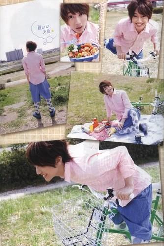 [SCANS] Nissy for Margaret Boyfriend Series Magazine (June 2011)
