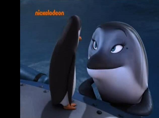 """The पेंगुइन Who Loved Me"": Kowalski and Doris"