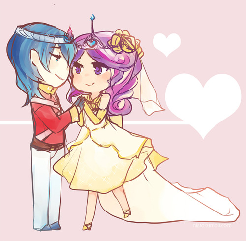 cadance & shining armer