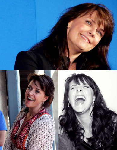 Amanda Tapping achtergrond containing a portrait entitled Craaaaziness