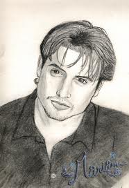 A drawing of Will Friedle