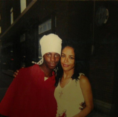 Aaliyah achtergrond called Aaliyah *very rare*