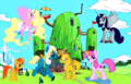 Adventure Time + MLP: FM - adventure-time-with-finn-and-jake fan art