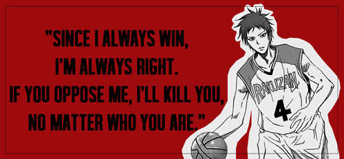 Kuroko no Basuke images Akashi's motto wallpaper and background photos ...