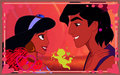 disney-princess - Aladdin & Jasmine wallpaper