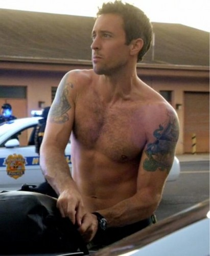 actores más guapos fondo de pantalla probably containing a pedazo, hunk called Alex O'Loughlin