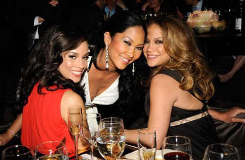 Alicia Keys, Kimora Lee Simmons, Jennifer Lopez - 2008