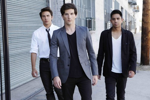 Allstar Weekend wallpaper containing a business suit, a suit, and a three piece suit called Allstar Weekend